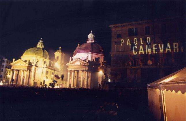 Paolo Canevari, New Year's Eve Event, 1997
