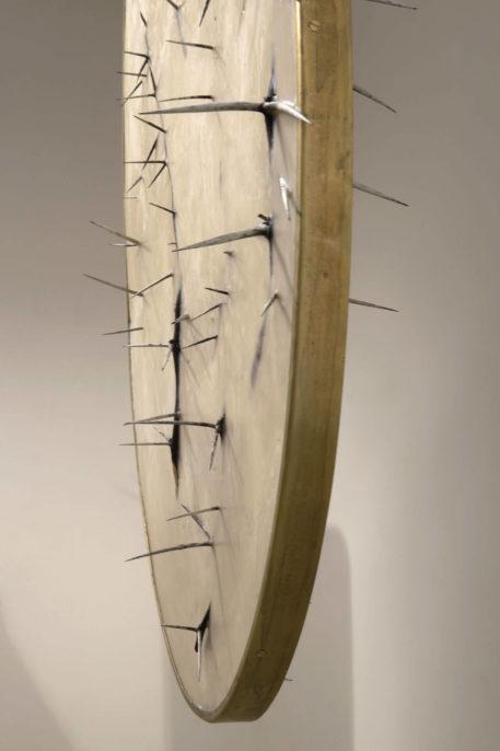 Silvia Giambrone, Mirror, 2018, detail, photo by Giordano Bufo