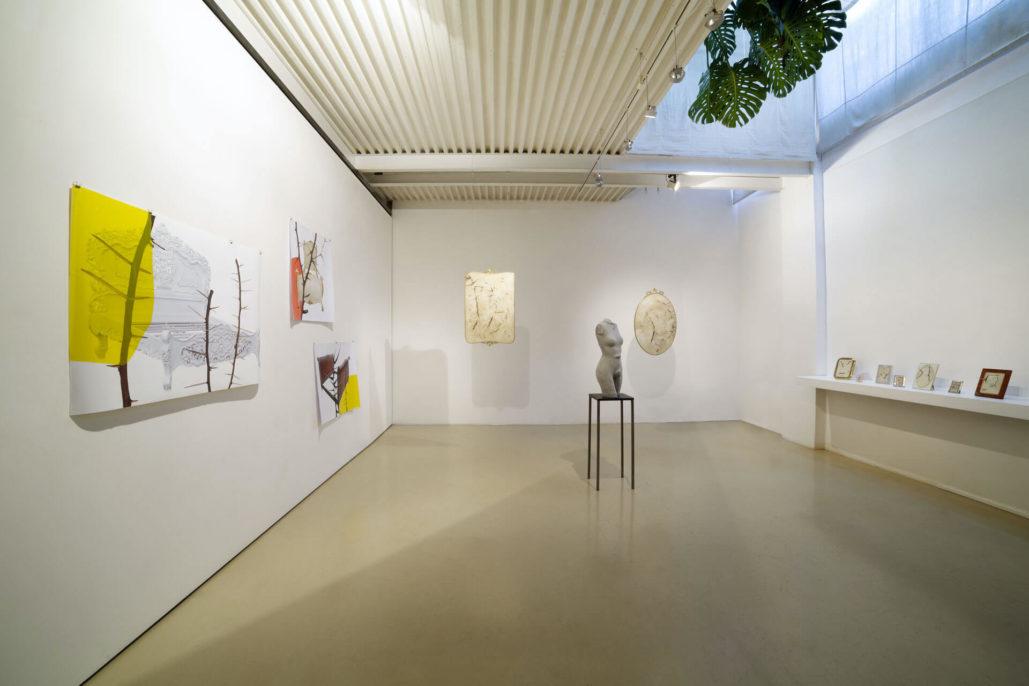 Silvia Giambrone, Il danno, 2018, Studio Stefania Miscetti, exhibition view, photo by Giordano Bufo