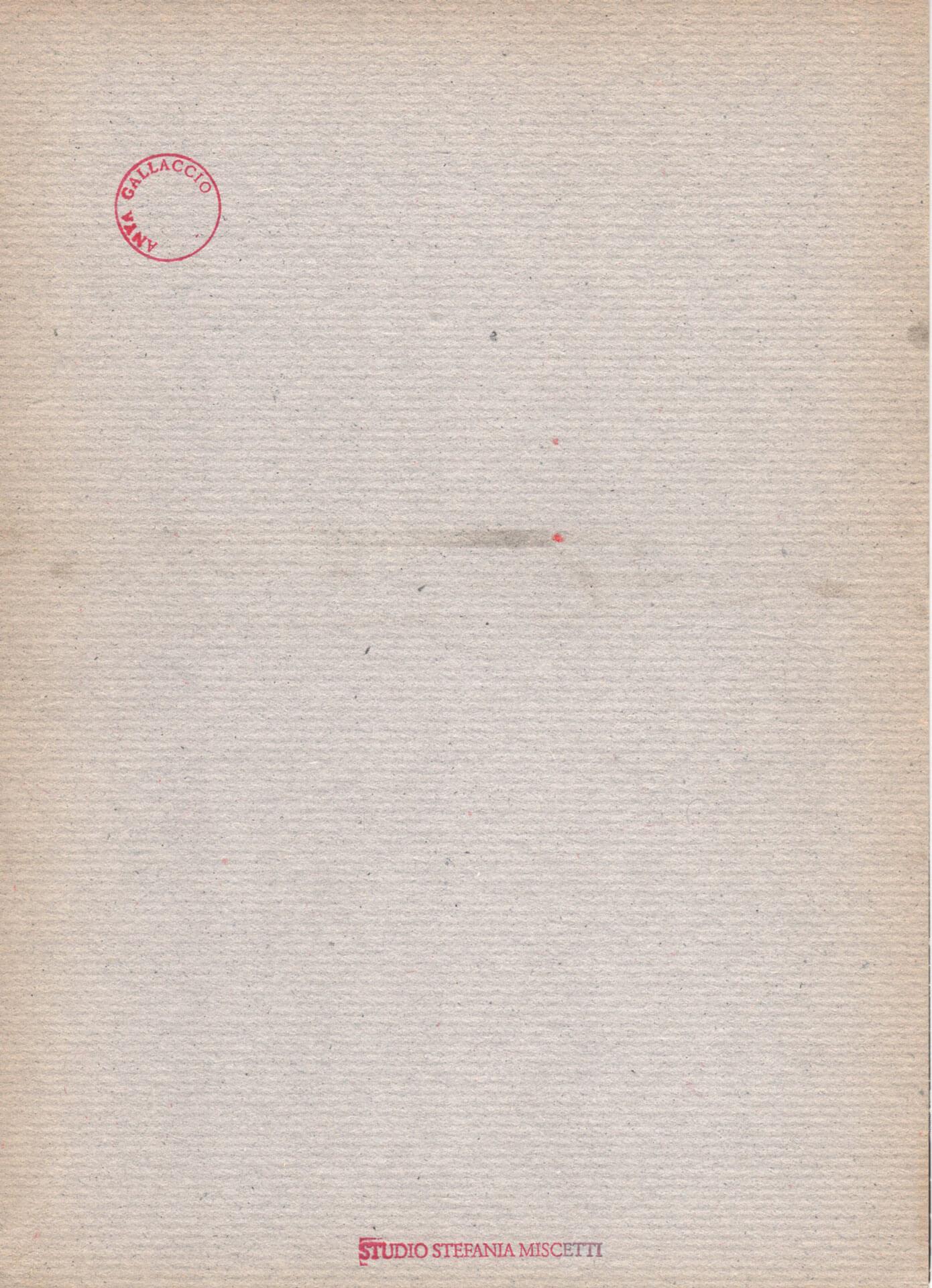 Studio Stefania Miscetti | Catalogues | Anya Gallaccio | La dolce vita
