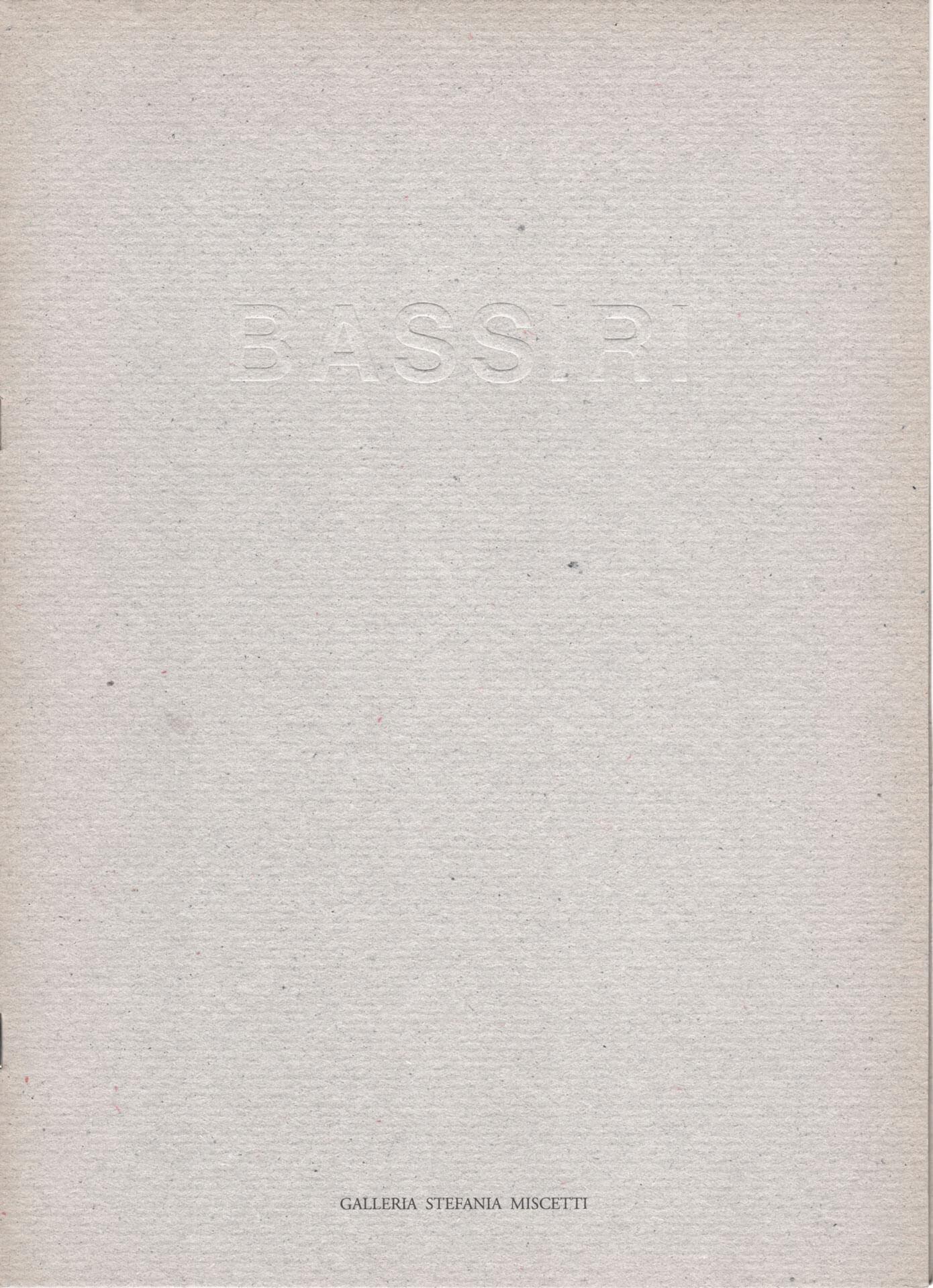 Studio Stefania Miscetti | Catalogues | Bizhan Bassiri | Battaglia di centauri