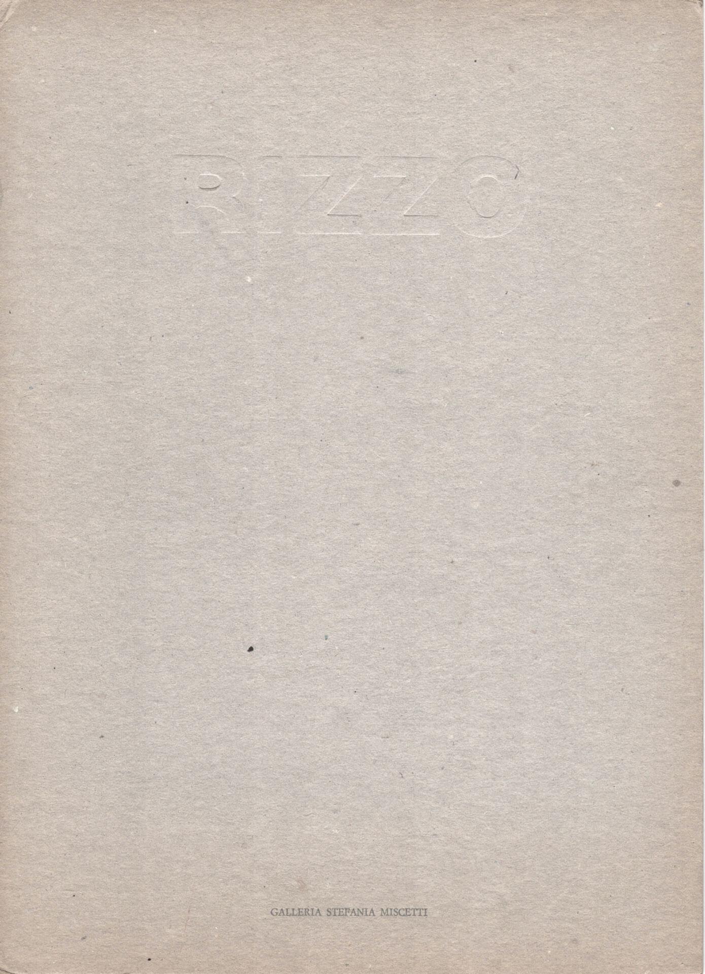 Studio Stefania Miscetti | Catalogues | Fiorella Rizzo | Cripta