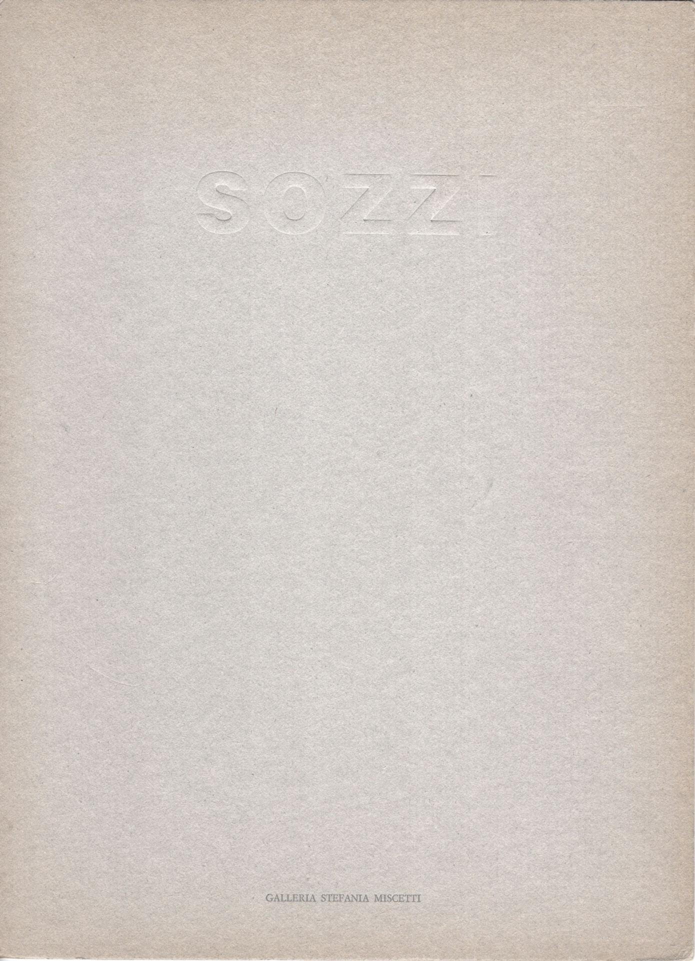 Studio Stefania Miscetti | Catalogues | Gian Domenico Sozzi | Tete a tete