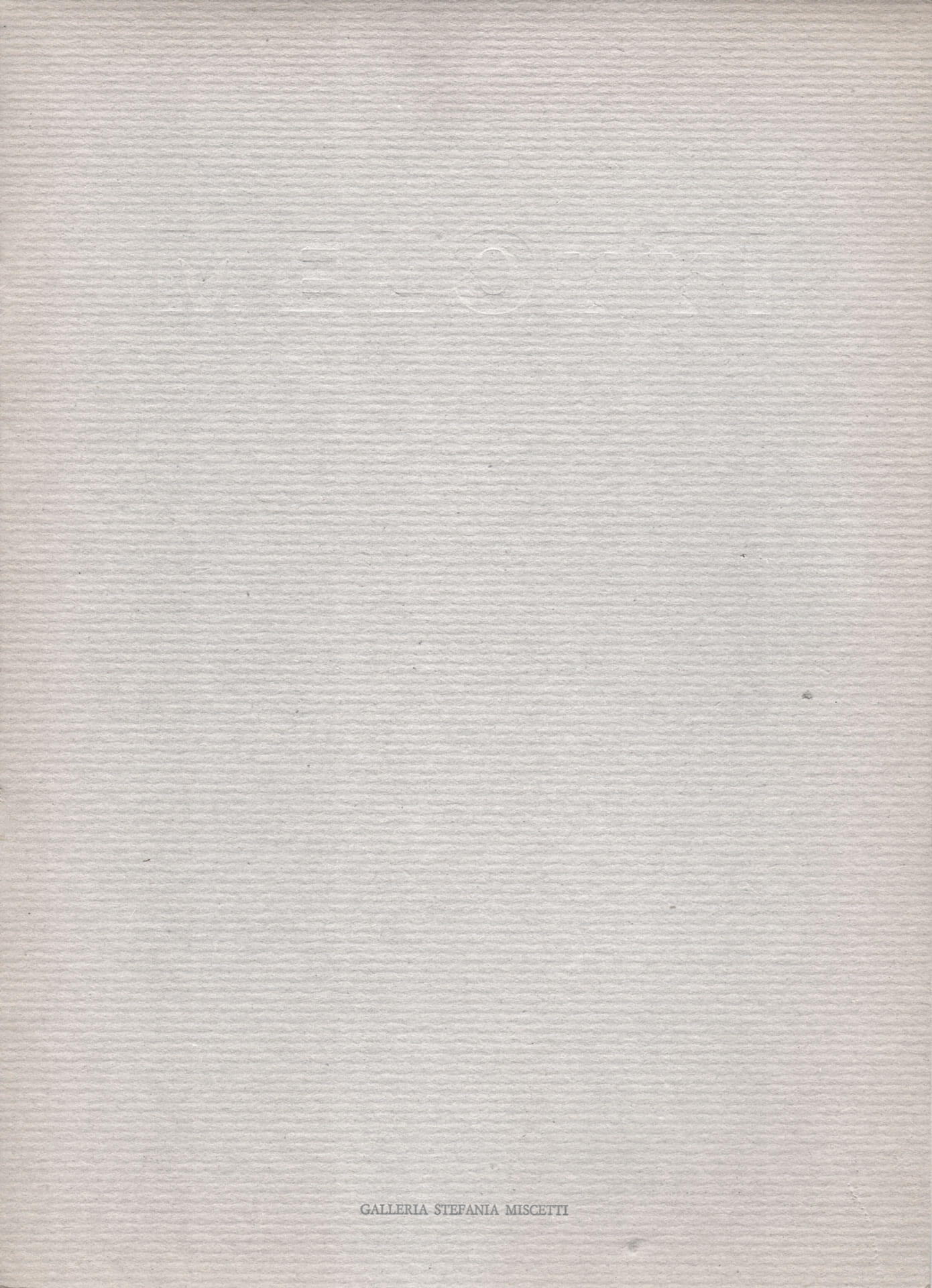 Studio Stefania Miscetti | Catalogues | Gianni Melotti | Argillle