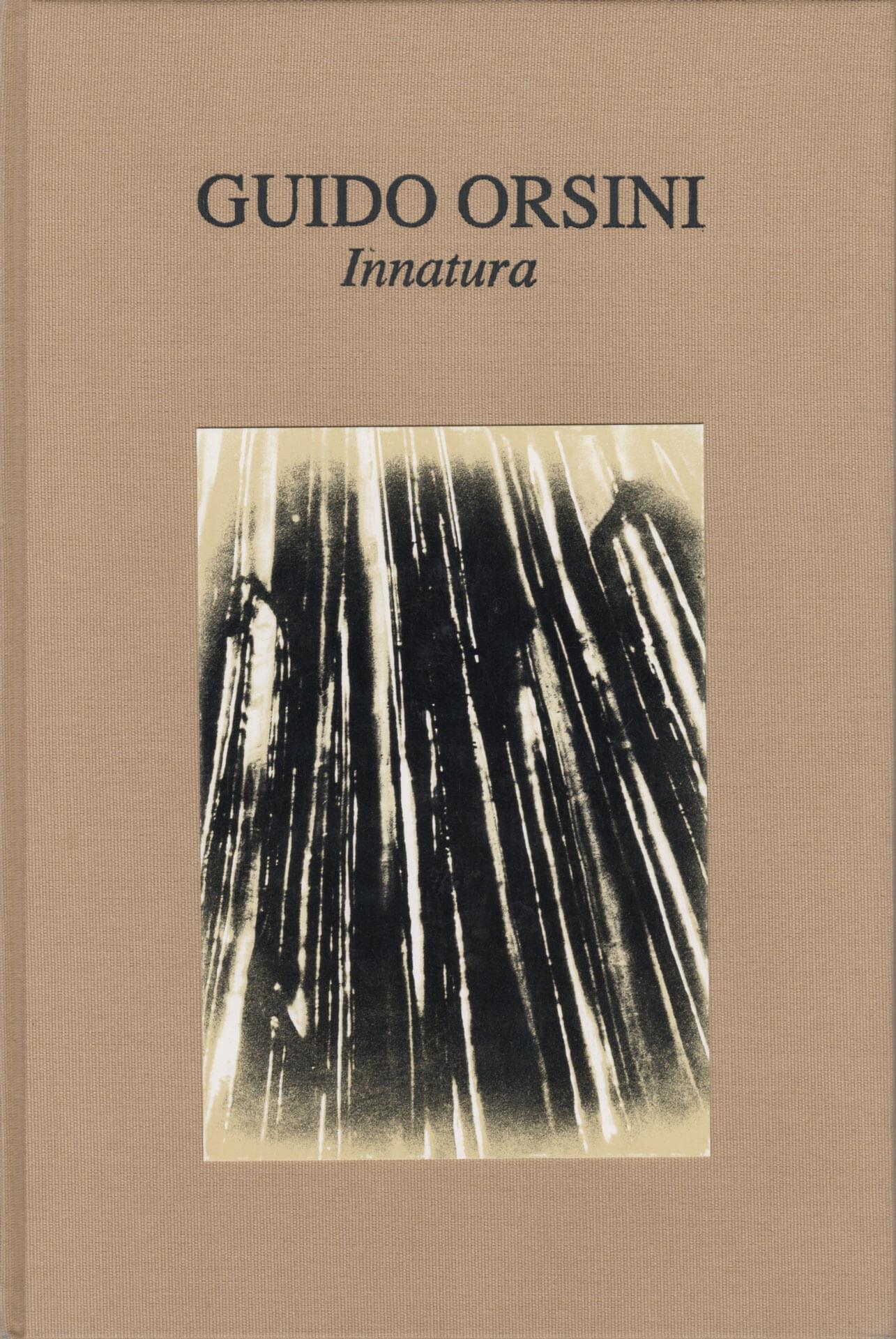 Studio Stefania Miscetti | Catalogues | Guido Orsini | Innatura