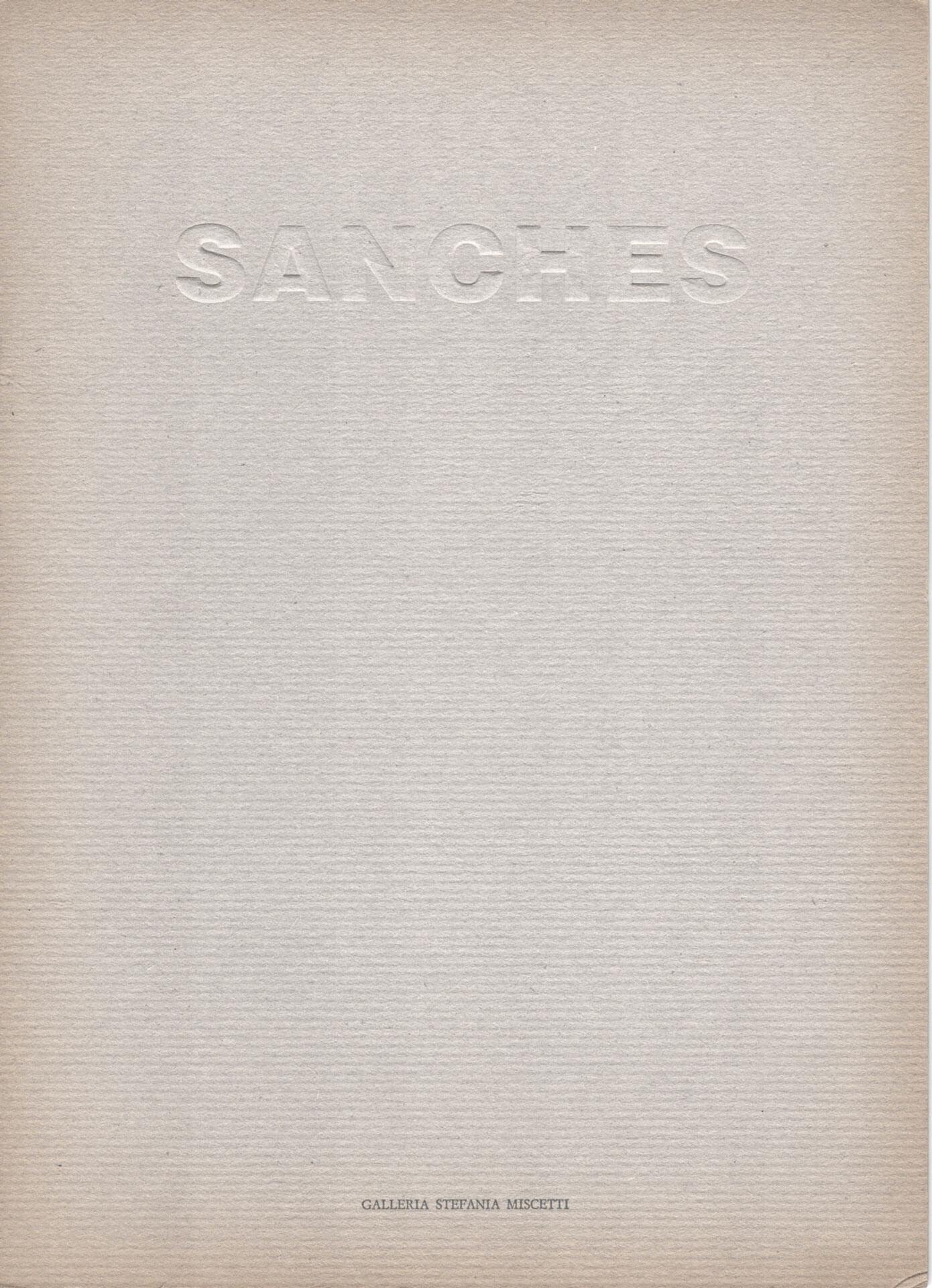 Studio Stefania Miscetti | Catalogues | Rui Sanches | Opere e disegni