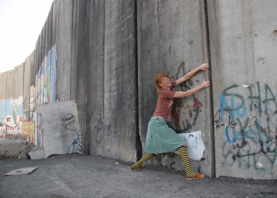 Rona Yefman, Pippi Longstocking 2006. The Strongest Girl in the World at Abu Dis, 2008