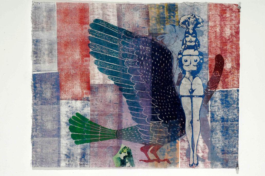 Nancy Spero, Fashion, 2002