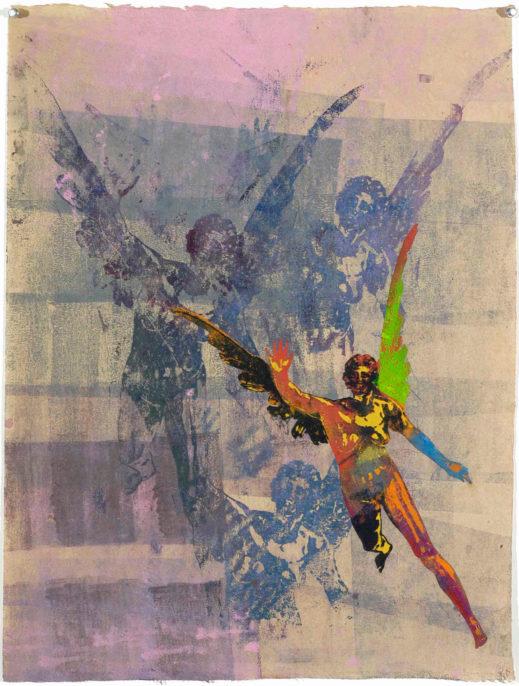 Nancy Spero, La Renommée, 2004