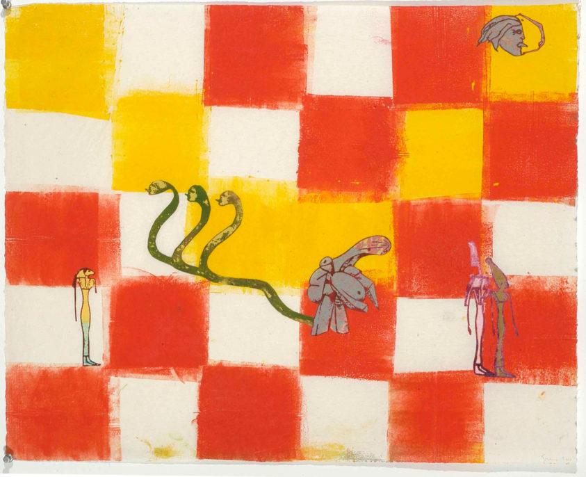 Nancy Spero, Serpents, 1996