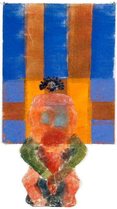 Nancy Spero, Sheela & The Gorgon, 2002