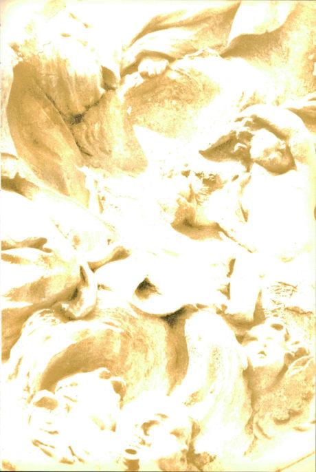 Guido Orsini, Visione, 1995, film on canvas