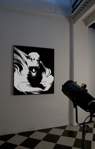 Adrian Tranquilli, Don't forget the Joker, 2006, exhibition view, photo by Claudio Abate