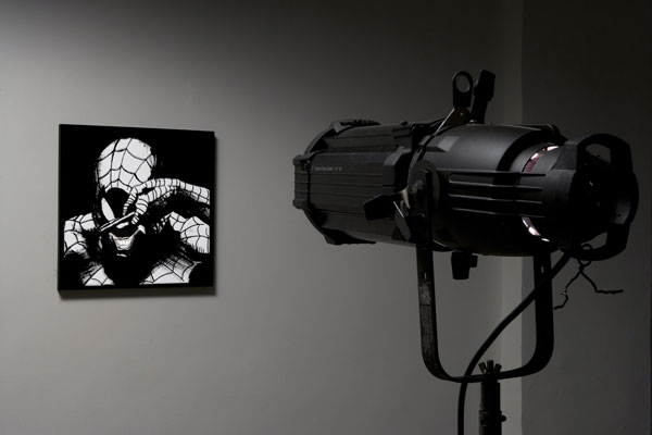 Adrian Tranquilli, Don't forget the Joker, 2006, exhibition view