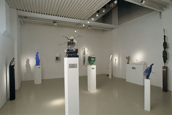 Adrian Tranquilli, Futuro imperfetto, 1998, exhibition view, photo by Claudio Abate