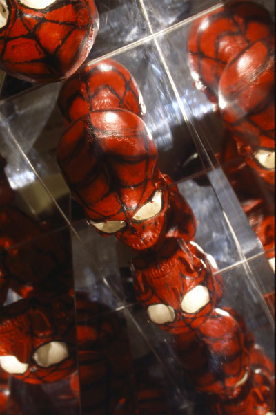 Adrian Tranquilli, Futuro imperfetto, 1998, Spider-Man, The Amazing, photo by Claudio Abate