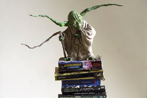 Adrian Tranquilli, Futuro imperfetto, 1998, Yoda, The Guardian, photo by Claudio Abate