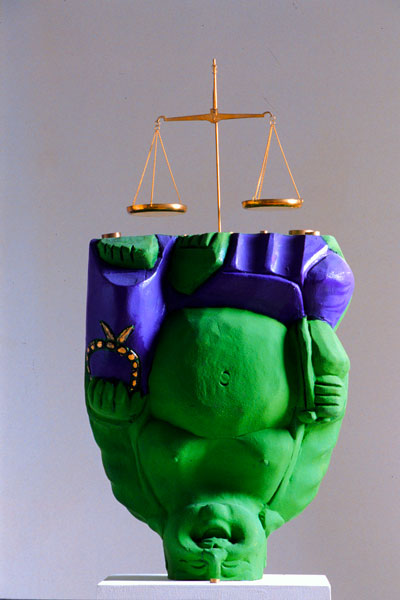 Adrian Tranquilli, Futuro imperfetto, 1998, Hulk, The Incredible, photo by Claudio Abate