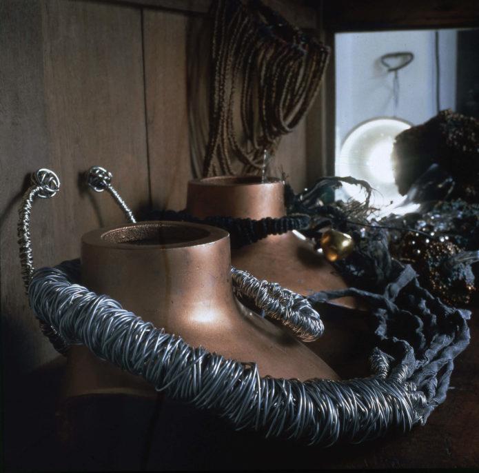 Giorgio Vigna, Noctiluca, 1994, exhibition view