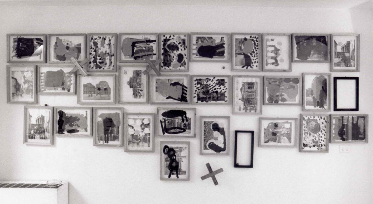 Claudio Pieroni, Sala macchine, 1992, exhibition view