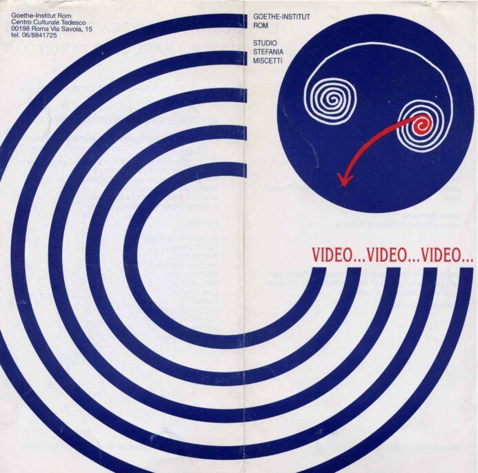 Video Video Video, 1994, invitation